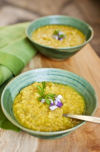 Curried Coconut Lentil Vegetable Soup